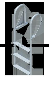 Swing Ladders - Wide Steps