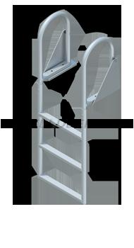 Swing Ladders - Standard Steps